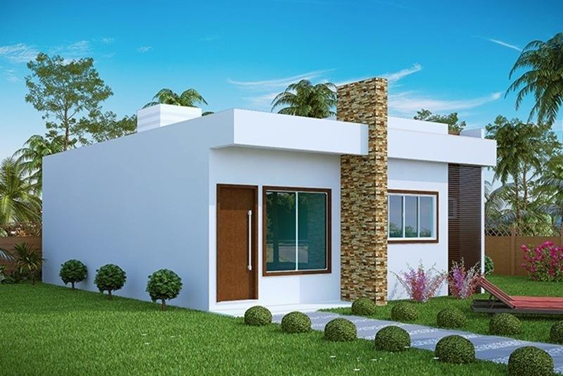 Casa aracaju 3 quartos com suite plantas de casas for Casa moderna 1 11 2