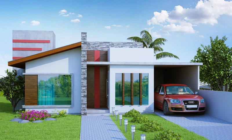 Casa porto alegre 3 quartos suite closet 2 carros for Modelos de frente para casas pequenas