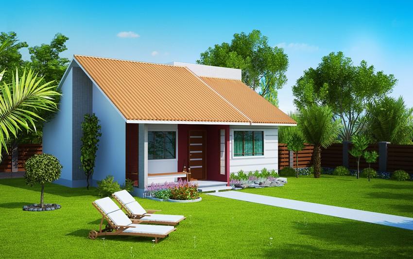 Planta de casa londrina casa pequena com 2 quartos for Casa minimalista 300m2