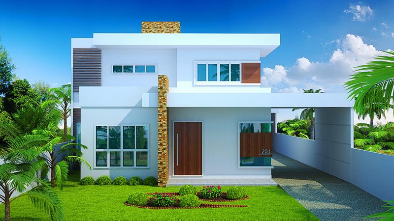Projeto Arquitetônico Sobrado Brasília Cód 204 R 74900
