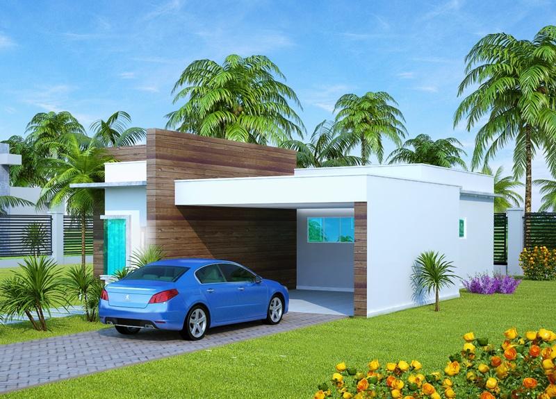 Casa sao luis com 2 quartos sendo 1 suite e 2 vagas de for Fachadas de casas modernas de 2 quartos