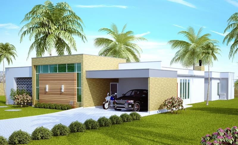 Projeto Arquitetônico Casa Uberlândia Cód 111 R 121000