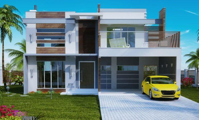 205-Plantas-de-casas-fachadas-sobrados-frontal