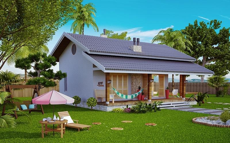 Casa niteroi modelo loft para praia ou campo for Modelos de casas de campo modernas