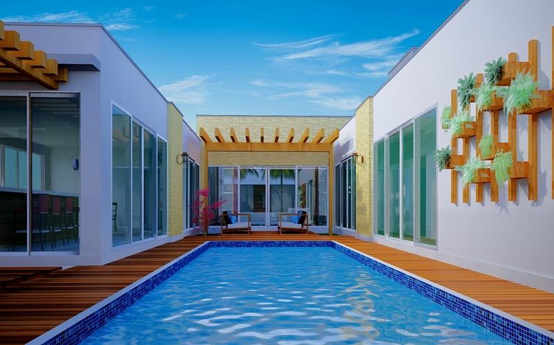 2c651b6797275 50 modelos de piscinas pequenas - Plantasdecasas.com
