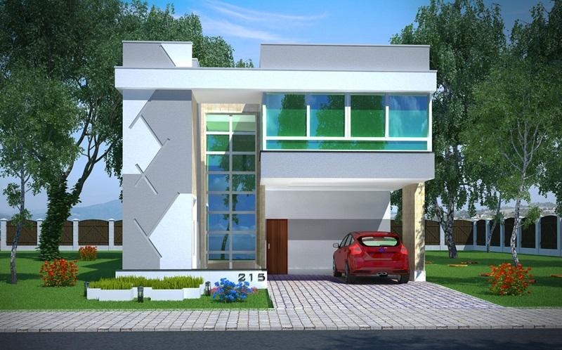 Sobrado alphaville com 3 quartos sendo 2 suites 2 for Casa moderna 2 andares 3 quartos