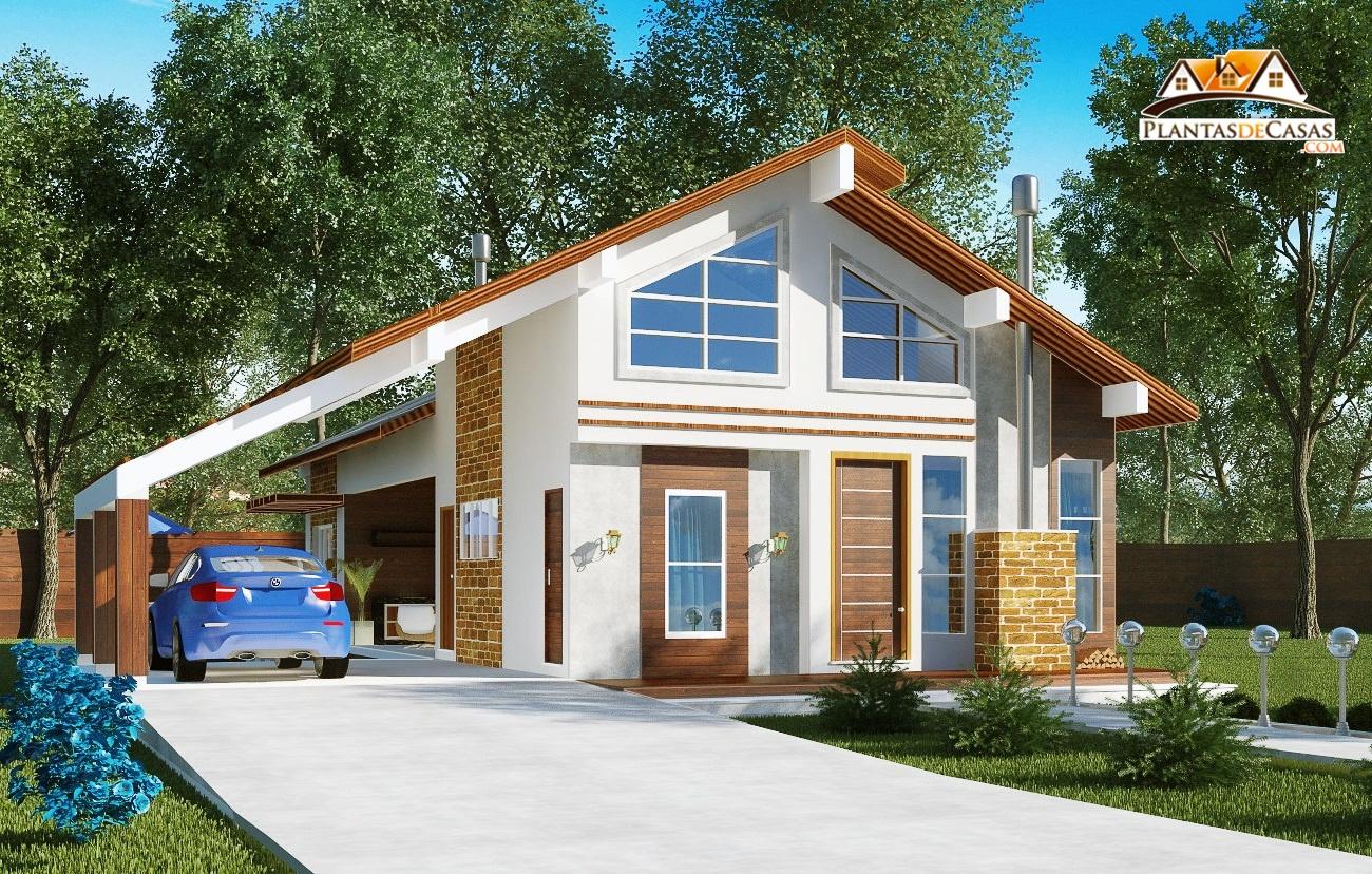 Casa de campo goi s com 3 quartos e espa o gourmet com for Casa moderna wallpaper