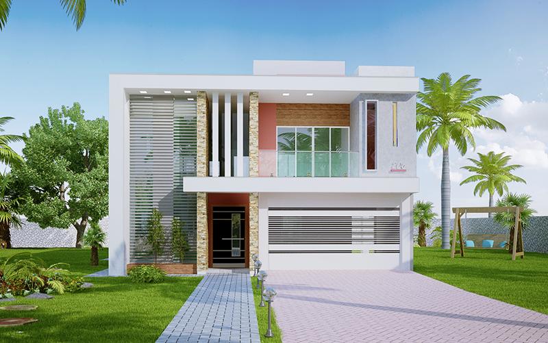 Planta de sobrado com 3 quartos 39 belo horizonte for Casa moderna 2 andares 3 quartos