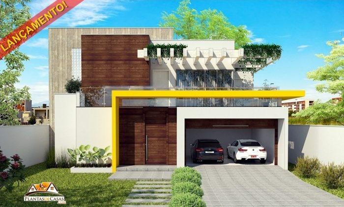 fachada de casa sobrado - 217A-min-min