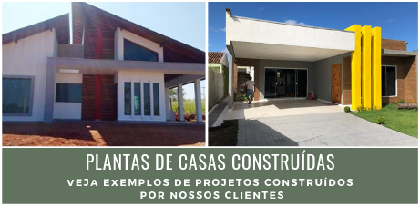 Exemplos de projetos construídos
