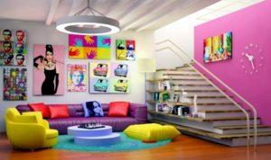 3 maneiras de deixar sua casa mais colorida